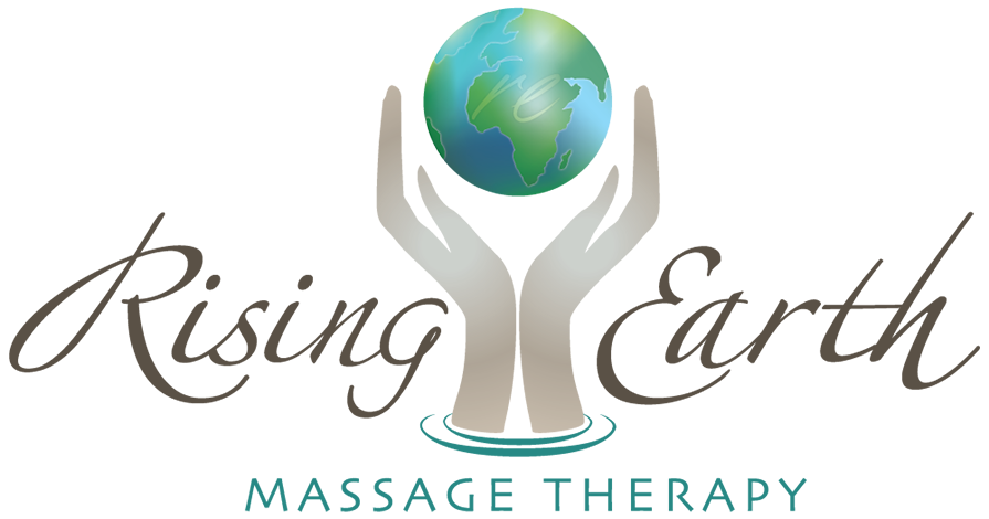 Rising Earth Massage Logo